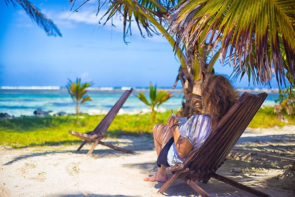 Time to relax on Southwest Caye, Belize