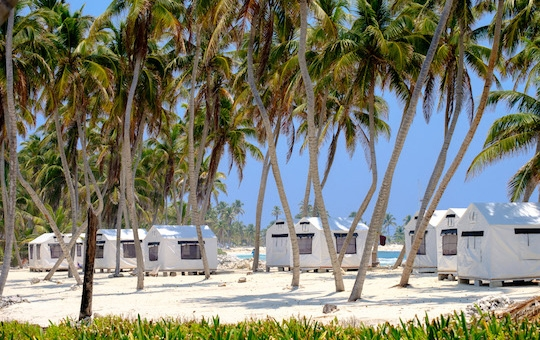 Lighthouse Reef Basecamp on Half Moon Caye